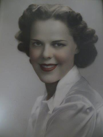 Mother's college graduation picture -- the one that made my Dad fall in love with her!